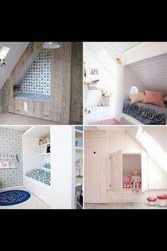 Idee voor de zolderkamer