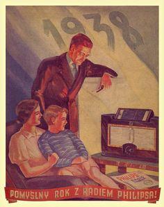 plakat Philips 1938
