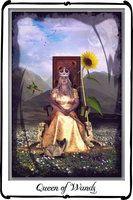 Tarot- Queen of Wands by `azurylipfe on deviantART