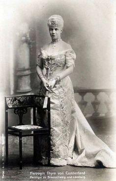 Princess Thyra of Denmark Duchess of Cumberland