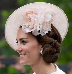 Philip Treacy Style OC 147. Catherine Duchess of Cambridge. June 2016