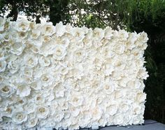 Papier-Blumen  Blumen aus Papier Hintergrund