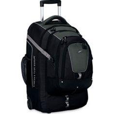 High Sierra overpass wheeled travel backpack