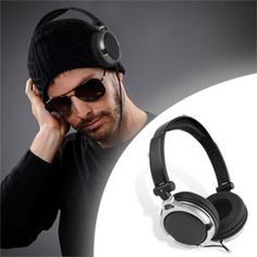 Get the DJ look and sound Product Information Get the look and sound of a real DJ with the Maxell DJ Style Headphones. These headphones feature extra large 40mm drivers that provide deep bass and superior sound, so you can hear the music exactly as it was meant to be heard.