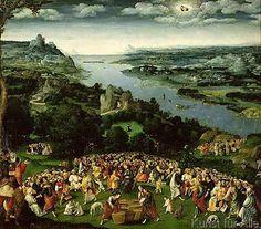 Joachim Patenier or Patinir - The Feeding of the Five Thousand