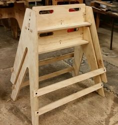 Lumber Storage, Wood Storage, Sawhorse Plans, Next Coats, Wood Projects, Projects To Try, Panel Saw, Work Horses, Homemade Tools