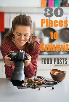 You just posted a great recipe, where do you submit your post? Here are 30 places to submit food blog posts and drive more traffic to your blog. There are quite a few food photo submission sites to navigate your way through.  This list will help you find where to submit those food and recipe blog posts.