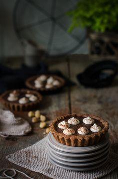 Sabores y Momentos | Tarta de chocolate, avellanas y crema de whisky {en modo Tartaleta} | http://saboresymomentos.es