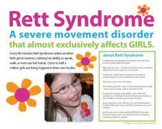 Great Fundraisers – Girl Power 2 Cure for Rett Syndrome Rett Syndrome, Social Environment, I Love Someone, Human Behavior, Pediatrics, Girl Power, Disorders, Fundraising, Health And Wellness