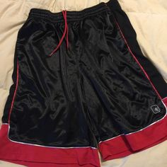 Men's Basketball Shorts Men's AND1 Basketball Shorts. Black and Red. Size Men's 2XL. Barely Worn. Great Condition. AND1 Other