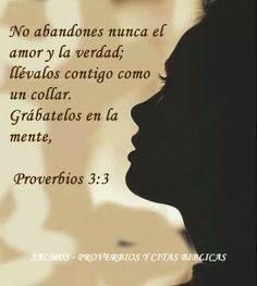 Proverbios 3:3