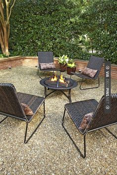Get tips from professional landscape designers on how to design a small patio. See pictures of small patio ideas for your own patio design.