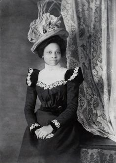 African American Hairstyles, African American Women, African Americans, American History, Vintage Black Glamour, Vintage Beauty, Victorian Women, Victorian Fashion, Victorian Era