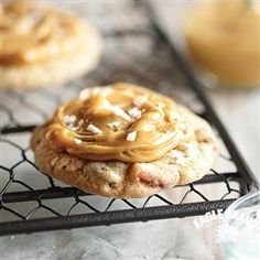 Salted Caramel Cookies recipe from Eagle Brand® Sweetened Condensed Milk.