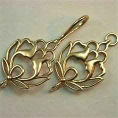 Gold - Single and Multi-Strand: Hook And Eye Clasp