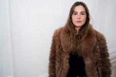Eleonore Toulin, Fur Coat, Jackets, Fashion, Down Jackets, Moda, Fashion Styles, Fashion Illustrations, Fur Coats