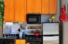 küchenlösungen für kleine küchen organisation ideen