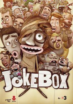 JOKEBOX SERIE by Roger Cordoba Schwaneberg, via Behance