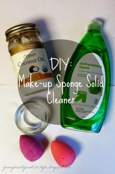 Young Beauty Lifestyle: DIY: Make-up Sponge Solid Cleaner