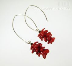 >>Lampwork earrings of late summer - by Petra Hamplova<< Enjoy Uniqueness & Quality of Czech Design http://en.bohemia-design-market.com/designer/petra-hamplova