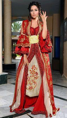 Number 1 #MasterCollection for #Moroccan #Fashion on #Pinterest. #Caftan, #Takchita, #Jalaba