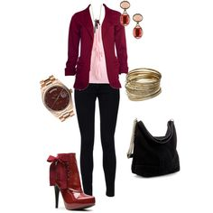 casual blazer and skinny jeans