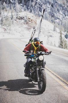 Two Wheels are Better than Four: Mark Kogelmann x Louis Arevalo #triumph #scrambler
