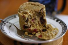 One Minute Muffin Recipe (low-carb, naturally gluten-free, high-protein, made with flax meal)) One commenter said she lost 43 pounds eating this every day!