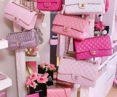 Luxury Purses, Luxury Bags, Luxury Handbags, Chanel Handbags, Purses And Handbags, Chanel Bags, Pink Chanel Bag, Chanel Luggage, Chanel Bag Classic