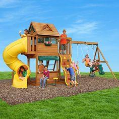 Summerville Cedar Play Set