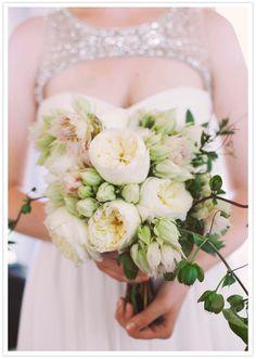 pale floral bouquet