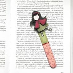 Záložka Gorjuss My Bookmarks, Embellishments, Scrap, Book Marks, Books, Fun, Handmade, Page Marker, Bookmarks