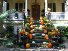 One of the most beautiful autumn porches ever