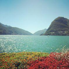 Lago di Laguno, Italian village in Switzerland. Photo taken by me.