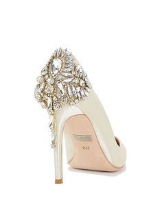 Poetry-II Embellished Pointed Toe Evening Shoe by Badgley Mischka