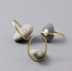 IIIINSPIRED: contrasting values _ millie behrens creates jewelr...