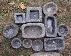 hypertufa pots | Flickr - Photo Sharing!