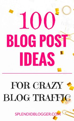 List of blog post ideas!  #blogging