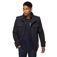 John Rocha from the Mens department at Debenhams. Shop a wide range of Men products and more at our online shop today. Debenhams, Moleskine, Dan, Leather Jacket, Jackets, Shopping, Clothes, Fashion, Studded Leather Jacket