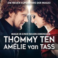 Thommy Ten & Amelie van Tass - Einfach zauberhaft - Tour 2017 - Tickets unter www.semmel.de