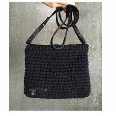 Starsky and Clutch crochet bag @chisepost #starskyandclutch #woolandthegang #jerseybegood #pun #crochetbag #jerseybegood