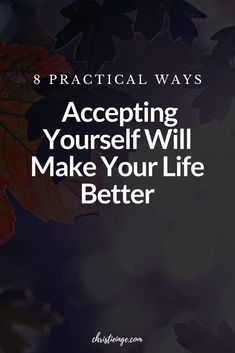 We live in a culture that encourages us to be different than we really are. We are told that we need to be thinner, richer, and smarter. Learn the benefits of self acceptance, especially the real, tangible, and practical ways it can make your life better so you can be the person you were meant to be. #selflove #selfacceptance #beyourself #goals #achieveyourgoals #believeinyourself #acceptyourself