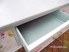 Vintage upcycled dressing table Victorian style dressing