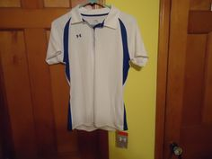 NOS NWT Women's Under Armour Short Sleeve Loose Exercise Shirt. Medium. #UnderArmour #HeatGear