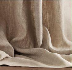 Natuurlijke gordijnen linnen gordijnen boerderij gordijnen | Etsy