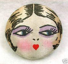 Button Wednesday : Flapper Buttons