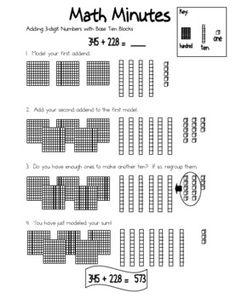 How to Introduce Decimals with Base Ten Blocks | Math | Pinterest ...