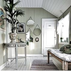 Greige, Painted Wood Walls, Welcome To My House, Piece A Vivre, Beautiful Interior Design, Scandinavian Home, Cabana, Home Decor Inspiration, My Dream Home