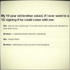 Awwwww.! This is amazing. People don't understand that these boys truly change our lives in so many ways.! <3<----i seriously just started crying:') this is beautiful
