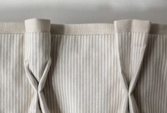 classic • casual • home: New Office and Bed Curtains. How to simulate a goblet pleat with regularly pleated curtains.